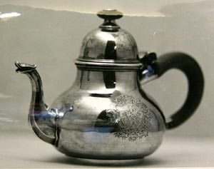 This George I teapot (1714) from the estate of John Maltwood sold for $5,200 in 1967.